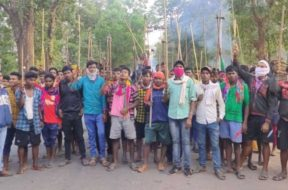 maoist-chhattisgarh-dharna-1