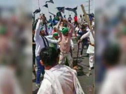 farmer_BJP_Clash